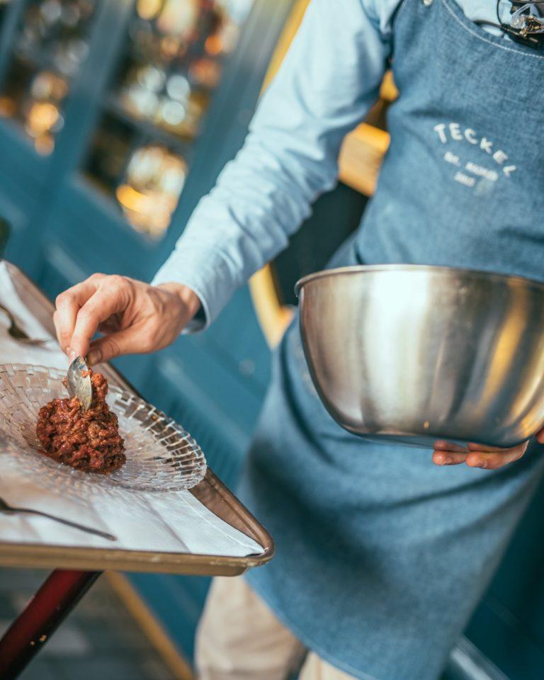 Cocinero Teckel