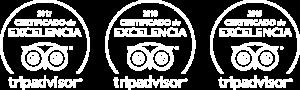 Certificados de Tripadvisor 17, 18 y 19
